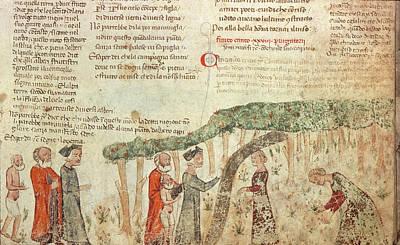 Purgatory Painting - Dante's Purgatory by Granger