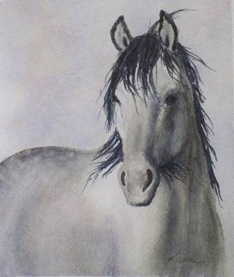 Painting - Dapple Grey by Deane Locke