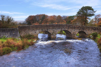 Heath Photograph - Dartmoor - Postbridge by Joana Kruse