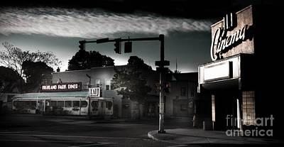 Highland Park Photograph - Date Night by Ken Marsh