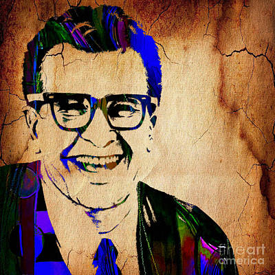 Dave Brubeck Collection Art Print by Marvin Blaine
