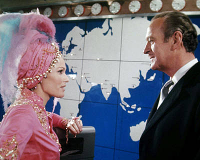 Ursula Photograph - David Niven In Casino Royale  by Silver Screen
