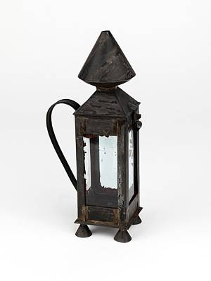 Gas Lamp Photograph - Davy Miners' Lamp by Science Photo Library
