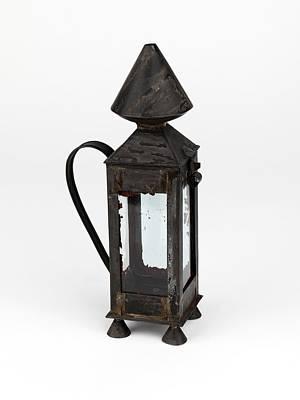 Davy Miners' Lamp Art Print