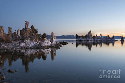 Photograph - Dawn On Mono Lake by Sandra Bronstein