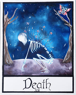 Universe Painting - Death by Elisabeth Rodgers