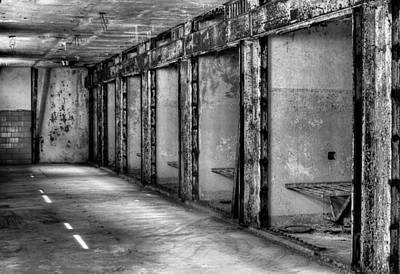 Eastern State Penitentiary Wall Art - Photograph - Death Row by JC Findley