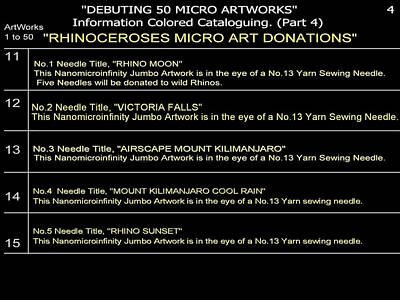 Digital Art - Debuting 50 Micro Artworks Part 4  by Phillip H George
