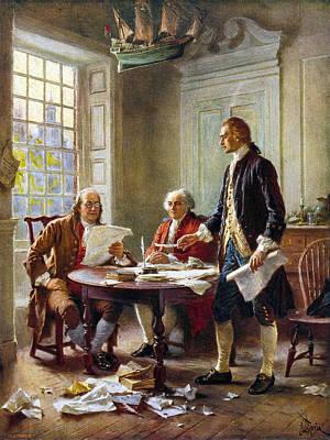 Declaration Committee Art Print by Granger