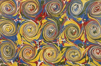 Decorative End Paper Art Print