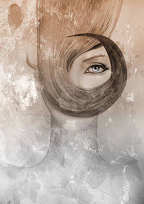 Deep Art Print by Yosi Cupano