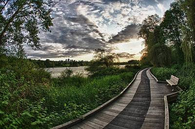 Photograph - Deer Lake Boardwalk by Scott Holmes