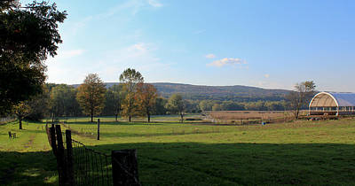 Deerfield Countryside Art Print by DustyFootPhotography