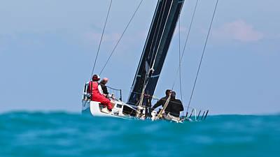 Photograph - Definitive Sailing by Steven Lapkin
