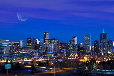 Photograph - Denver Dusk by Mark Andrew Thomas