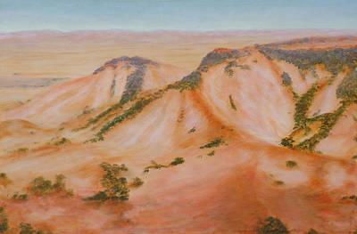 Desert Hills 2013 Original by Alex Mortensen
