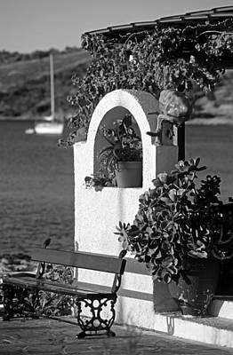 Details In Aegina Island Art Print by George Atsametakis