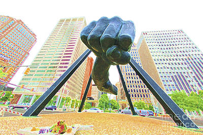 Photograph - Detroit Fist by Steven Dunn
