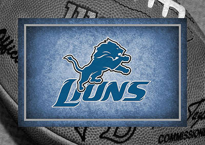 Detroit Photograph - Detroit Lions by Joe Hamilton