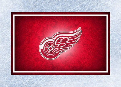 Hockey Photograph - Detroit Red Wings by Joe Hamilton