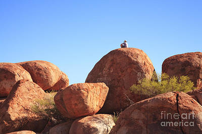 Devils Marbles Northern Territory Australia Art Print by Colin and Linda McKie