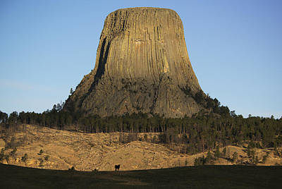 Devils Tower Photograph - Devils Tower National Monument Wyoming by Kevin Schafer