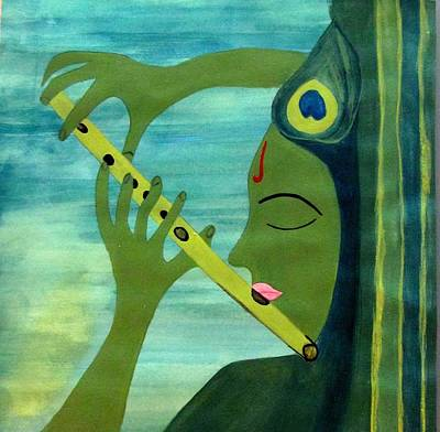Painting - Devotion by Surbhi Grover