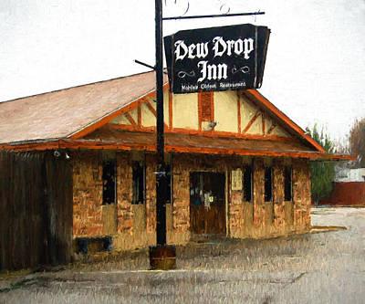 Digital Art - Dew Drop Inn by Michael Thomas