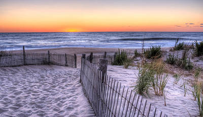 Photograph - Dewey Beach Sunrise by David Dufresne