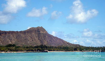 Photograph - Diamond Head by Rachel Munoz Striggow