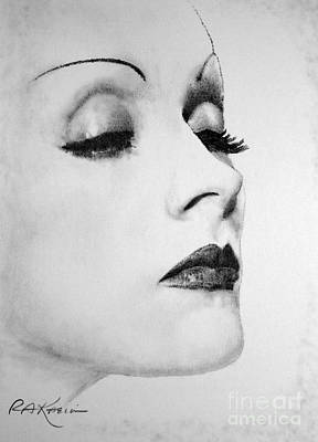 Dietrich Art Print by Roy Anthony Kaelin