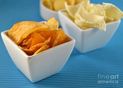 Photograph - Different Types Of Chips by Blanchi Costela