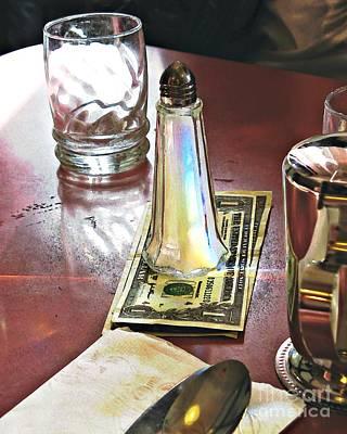 Photograph - Diner Still Life by Sarah Loft