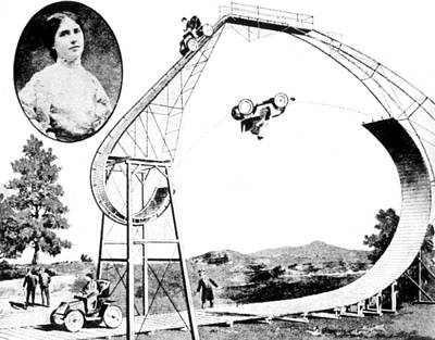 Photograph - Dip Of Death, Mauricia De Tiers, French by Science Source