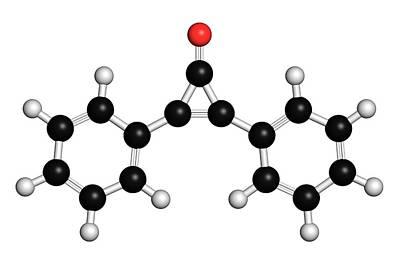 Molecule Photograph - Diphencyprone Alopecia Drug Molecule by Molekuul