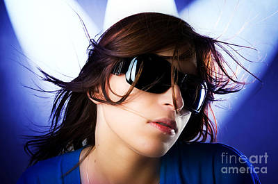 Fashion Photograph - Disco Girl by Michal Bednarek