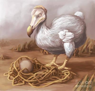 Dodo Bird, Illustration Art Print by Spencer Sutton