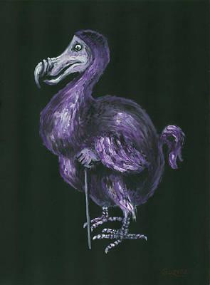 Dodo Bird Painting - Dodo by Suzette Broad