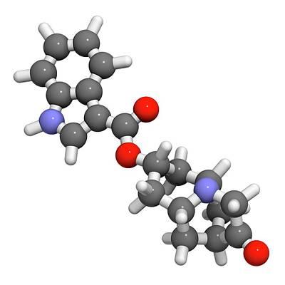 Dolasetron Nausea Drug Molecule Art Print by Molekuul