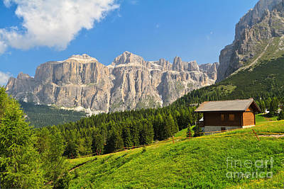 Bath Time Rights Managed Images - Dolomiti - high Fassa Valley Royalty-Free Image by Antonio Scarpi