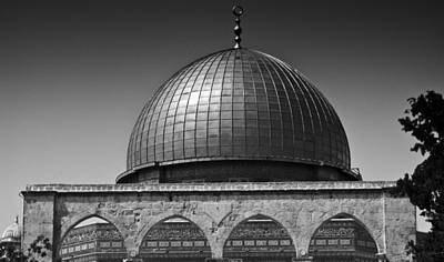 Photograph - Dome Of The Rock by Amr Miqdadi