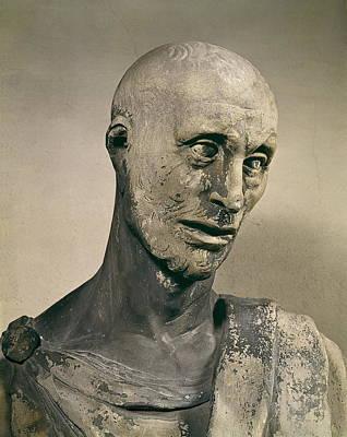 Statue Portrait Photograph - Donatello, Donato De Betto Bardi by Everett