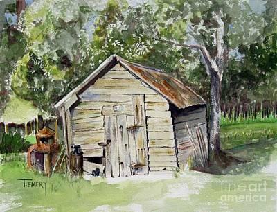 Done Farmin' Original by Trish Emery