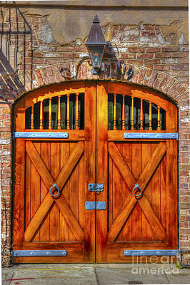 Photograph - Doors Of Charleston by Dale Powell