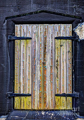 Photograph - Doorway To Fort Moultrie's Battery Jasper On Sullivan's Island Sc by Dale Powell