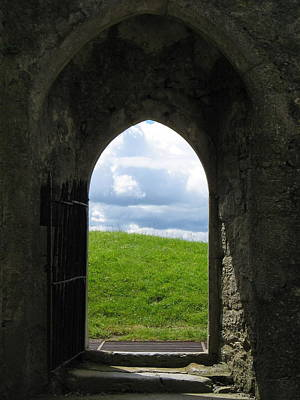 Photograph - Doorway To Irish Landscape by Denise Mazzocco