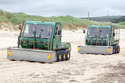Dounreay Beach Radiation Monitoring Art Print