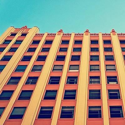 Instacnvs Photograph - Downtown - Miami by Joel Lopez
