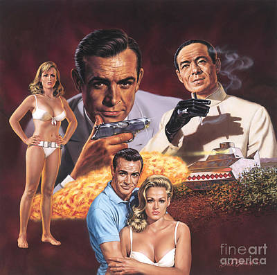 Dr. No   Print by Dick Bobnick