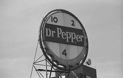 Dr. Pepper Bottle Top Art Print by Frank Romeo